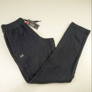 Under Armour Cold Gear Fleece Tapered Pants Black
